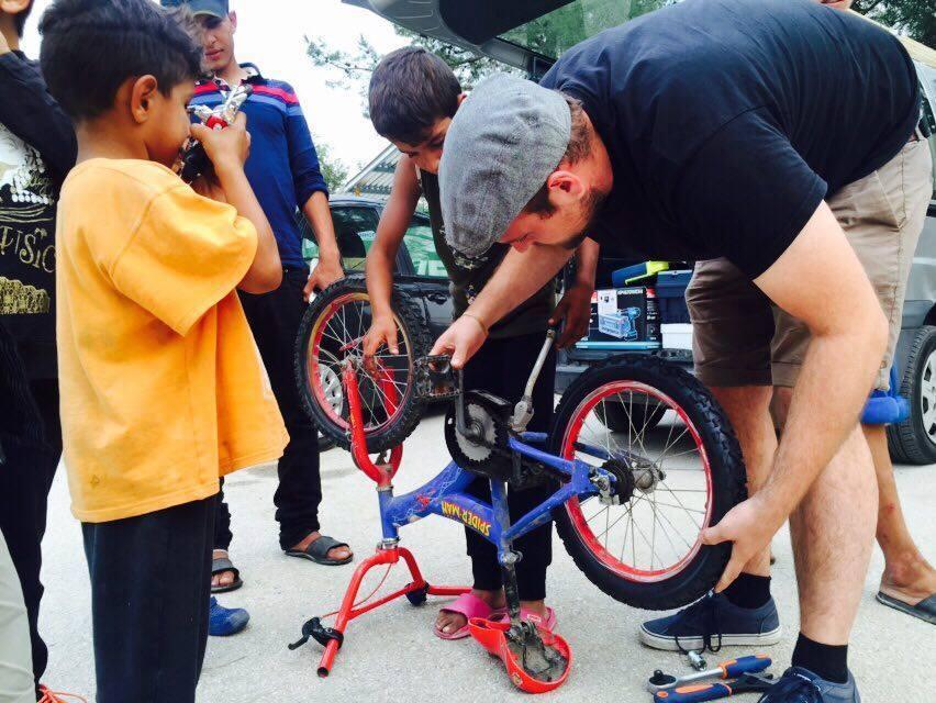 aid hoc fahrradreparatur