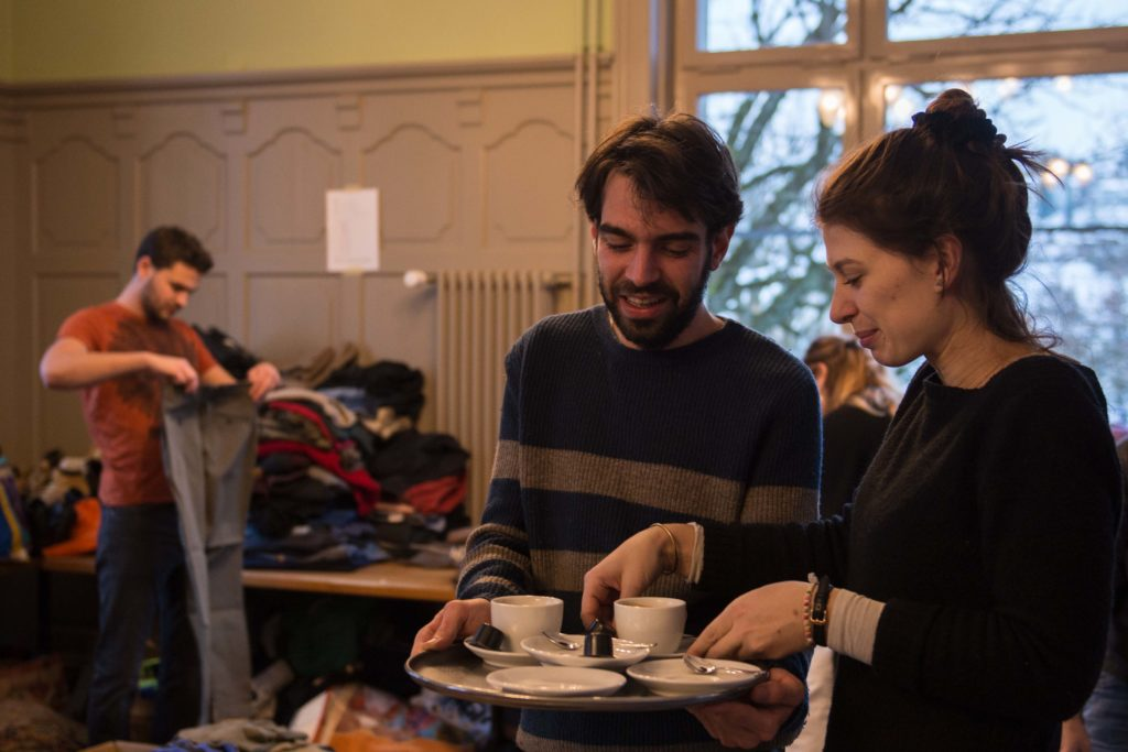 aid hoc Kleidersammlung für Lesbos, Griechenland