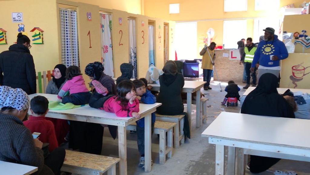 Baby Hammams Projekt Moria - Lesbos