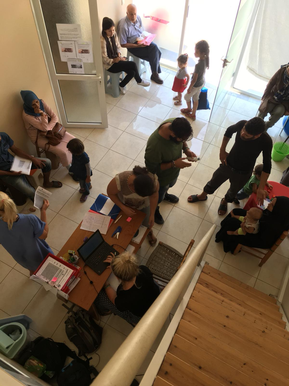 Medizischische Hilfe für Flüchtlinge in Samos - Med'EqualiTeam Paxis