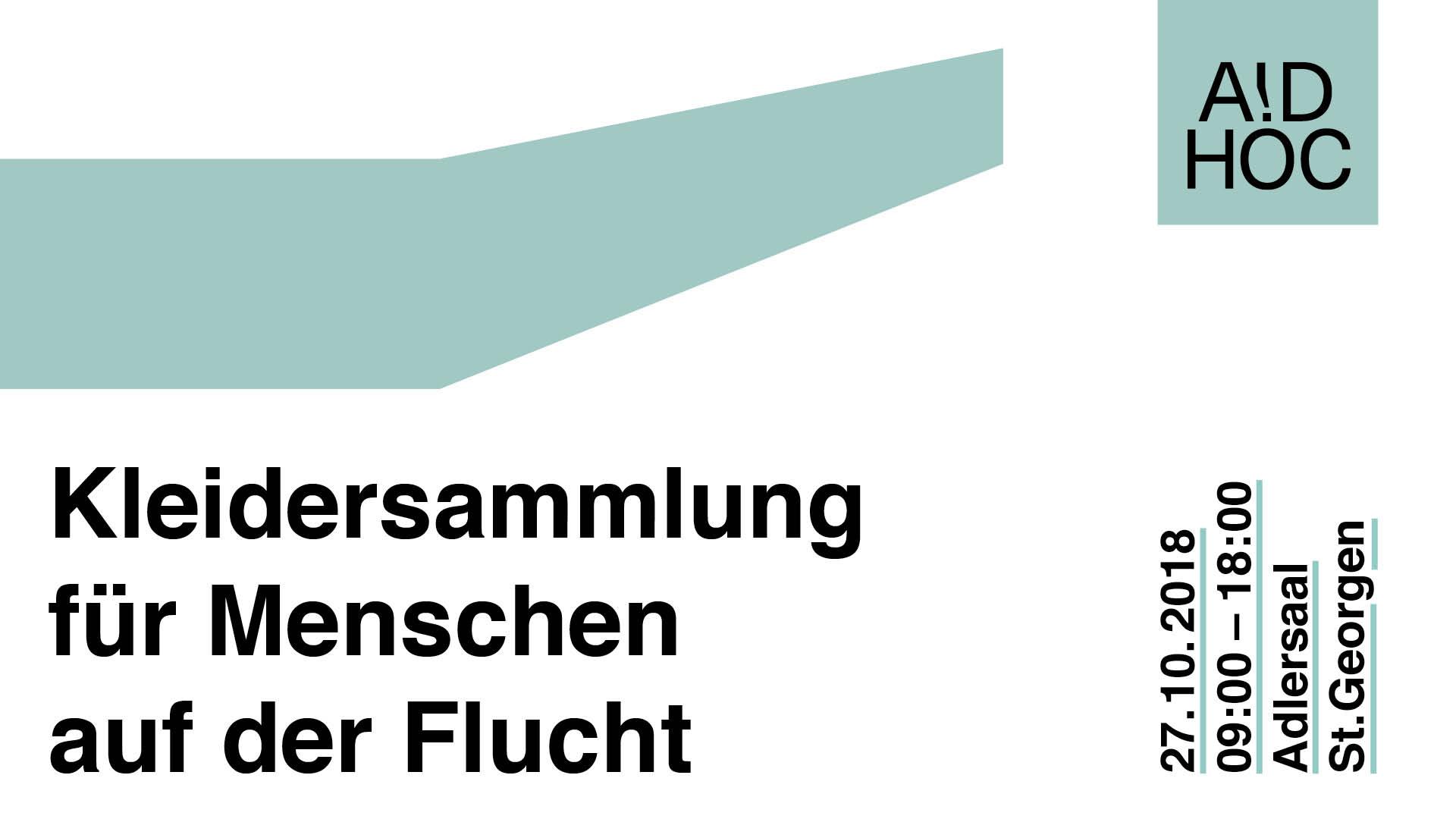 Kleidersammlung für flüchtlinge in Griechenland aid hoc, St. Gallen