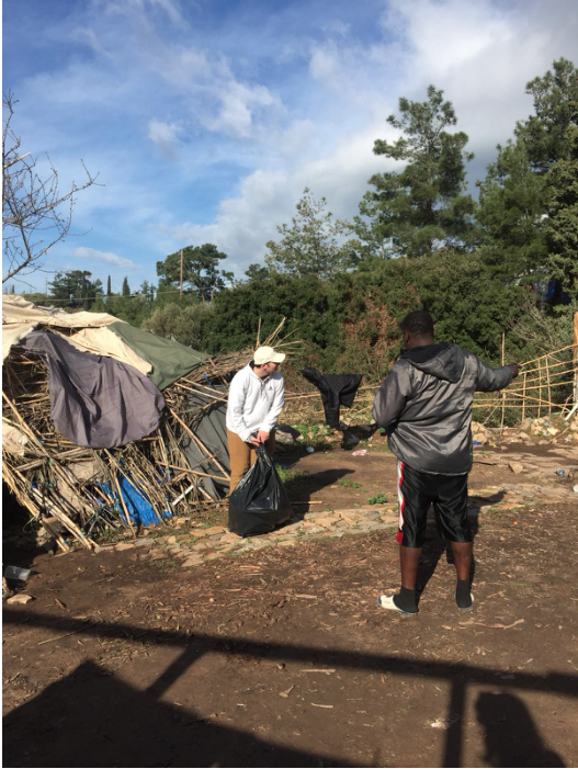 Flüchtlingslager in Samos