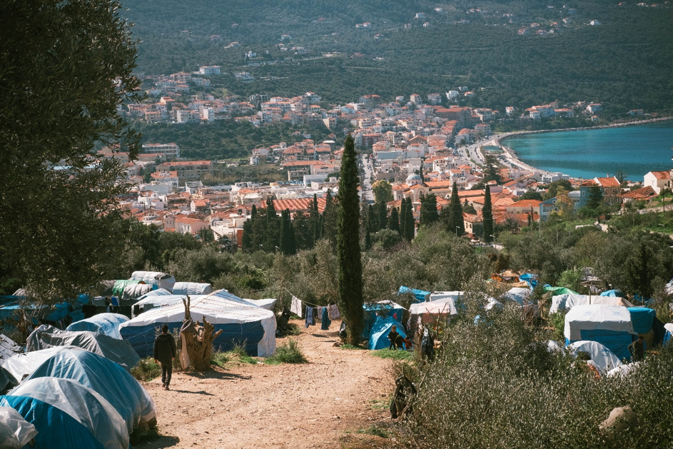 Refugees Camp in Samos