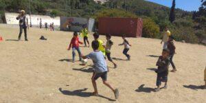 Flüchtlingscamp in Samos, Griechenland