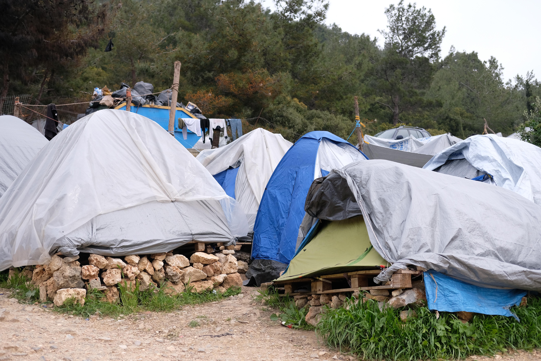 Flüchtlingscamp auf Samos, 2019